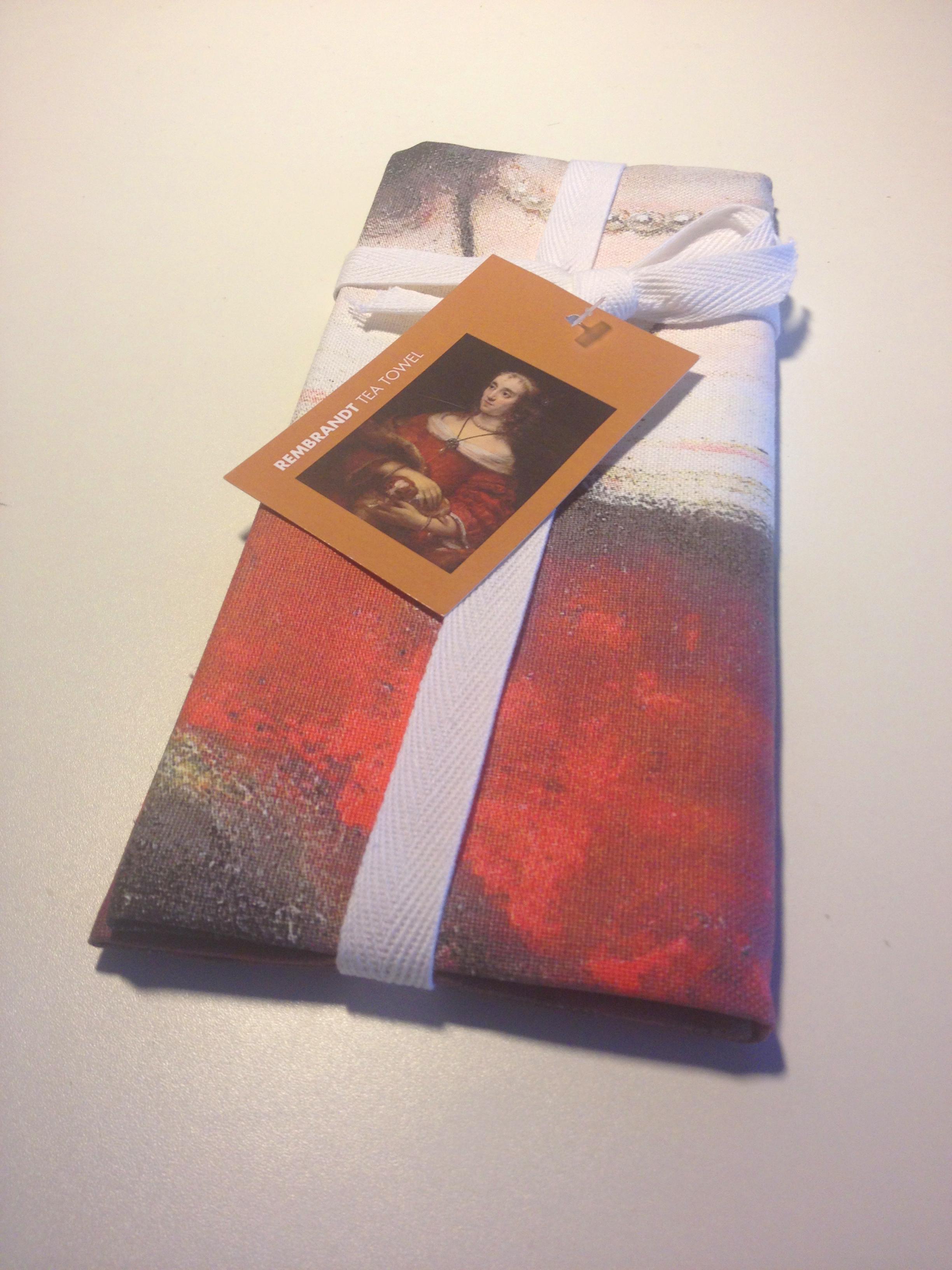 Rembrandt Tea Towel